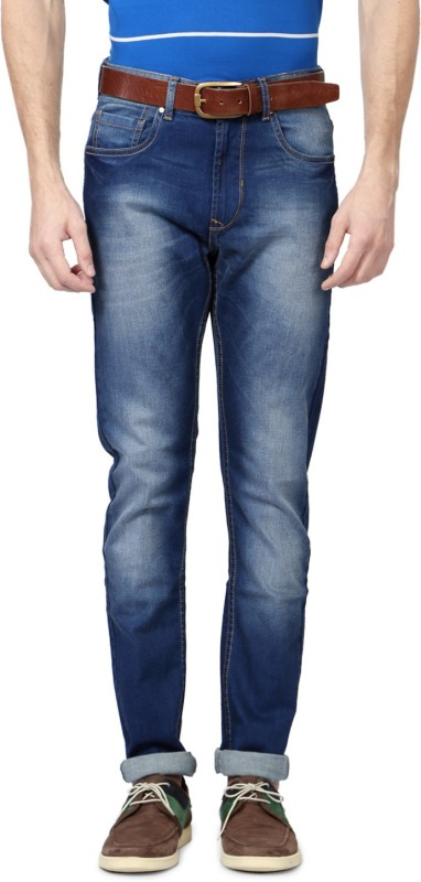 Peter England Slim Men Blue Jeans