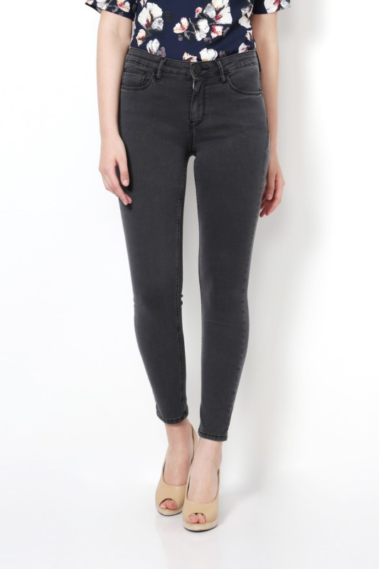 Van Heusen Regular Women Grey Jeans