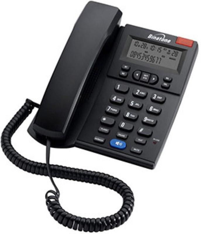 Binatone Concept 700 (Two Way Speaker) Corded Landline Phone(Black)