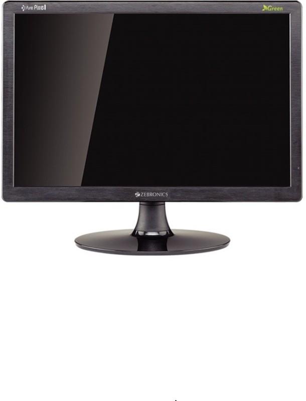 Zebronics 16 inch HD led hd - 16A led hd Monitor(Black)