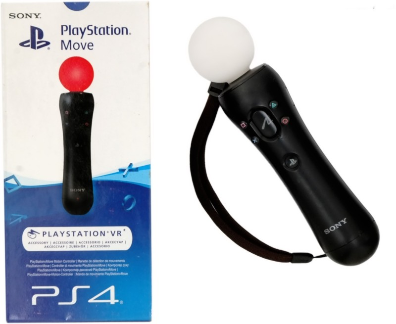 Sony Ps4 Move Motion Controller(Black, For PS4)