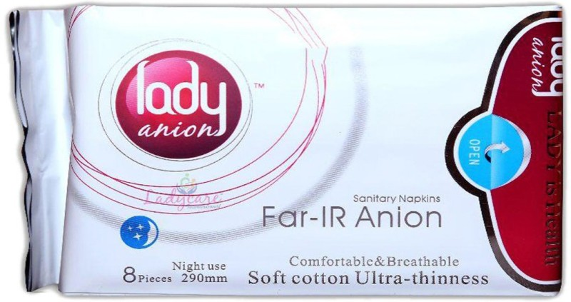 Lady anion Ladyanion Sanitary Pad(Pack of 8)
