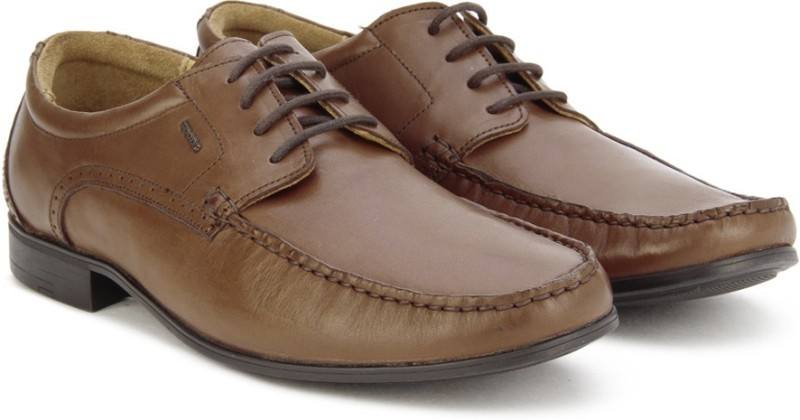 Woods by Woodland Lace Up Shoes For Men(Brown)
