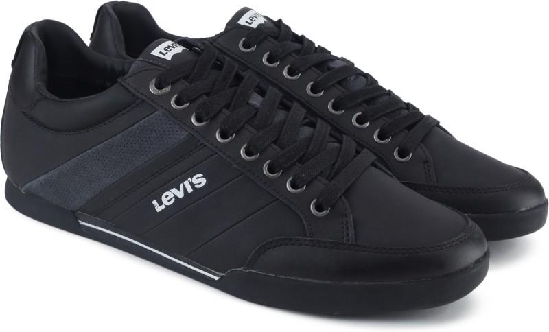 Levis Turlock Sneakers For Men(Black)