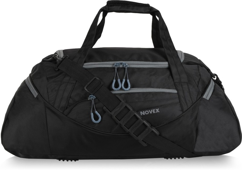 Novex Lite Gym Bag(Black, Kit Bag)