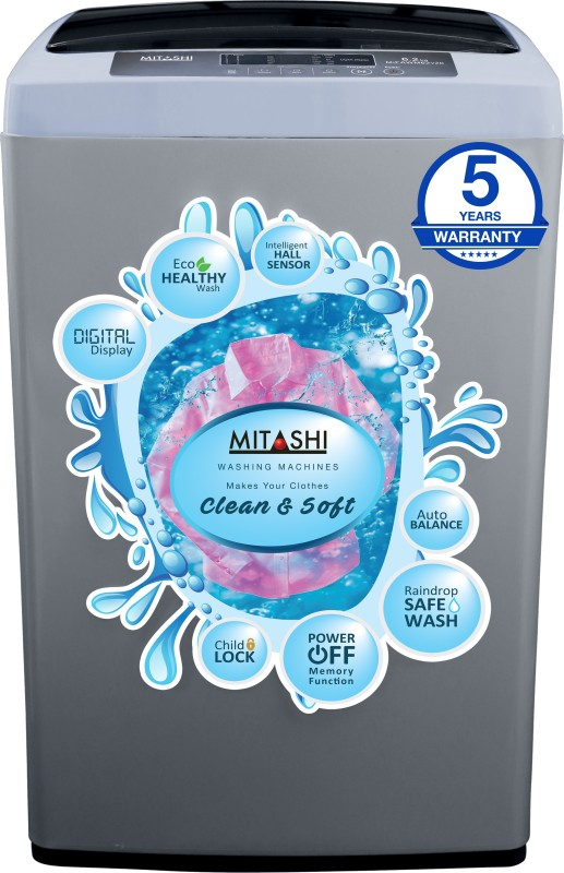 MITASHI MIFAWM62V20 6.2KG Fully Automatic Top Load Washing Machine