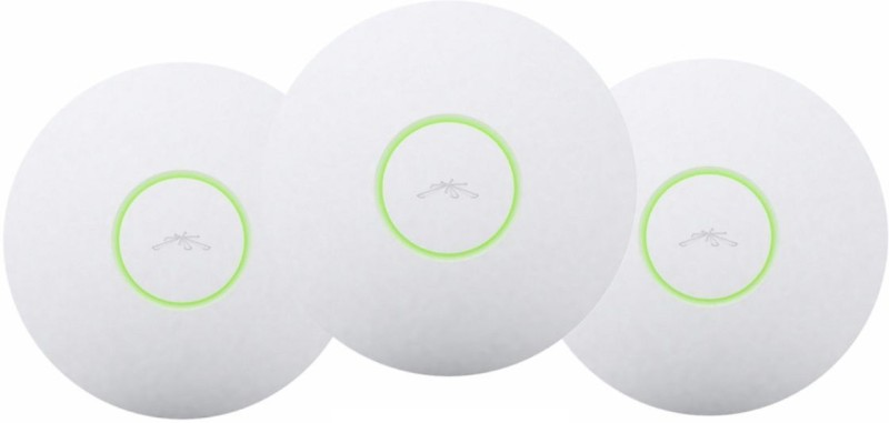 Ubiquiti Networks UniFi UAP LR3 Enterprise WiFi System Long Range Pack of 3 Access Point(White)