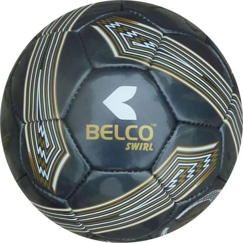 BELCO Swirl Football Football - Size: 5(Pack of 1, Black)
