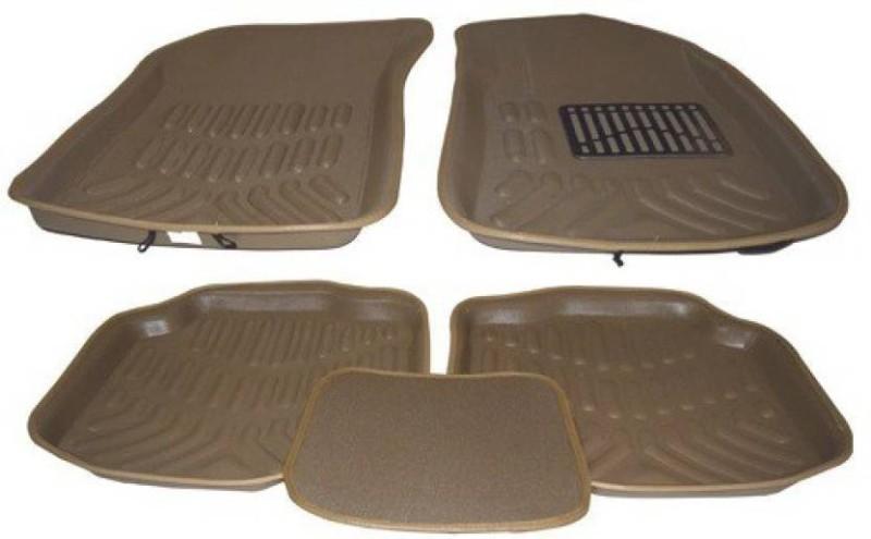 A K Online Services Plastic Standard Mat For Hyundai Creta(Beige)
