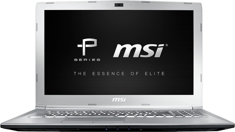 MSI P Series Core i7 7th Gen - (8 GB/1 TB HDD/128 GB SSD/DOS/4 GB Graphics) PE62 7RE-2024XIN Gaming Laptop(15.6 inch, SIlver, 2.2 kg) image