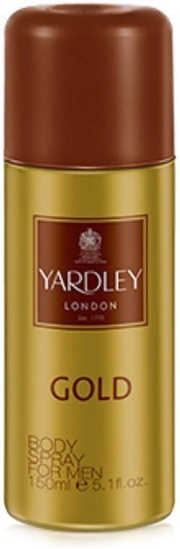 Yardley London Gold Body Spray - For Men(150 ml)
