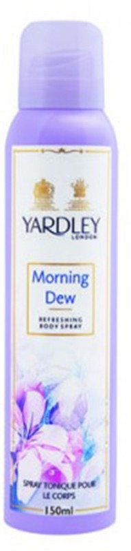 Yardley London Morning Dew Body Spray - For Women(150 ml)