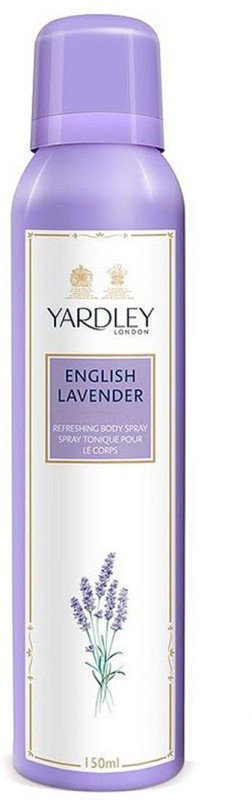 Yardley London English Lavender Body Spray - For Women(150 ml)