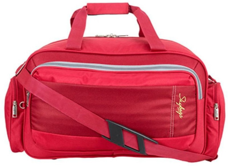 Skybags Economical Duffle Trolley with spacious interiors (Expandable) Travel Duffel Bag(Red)