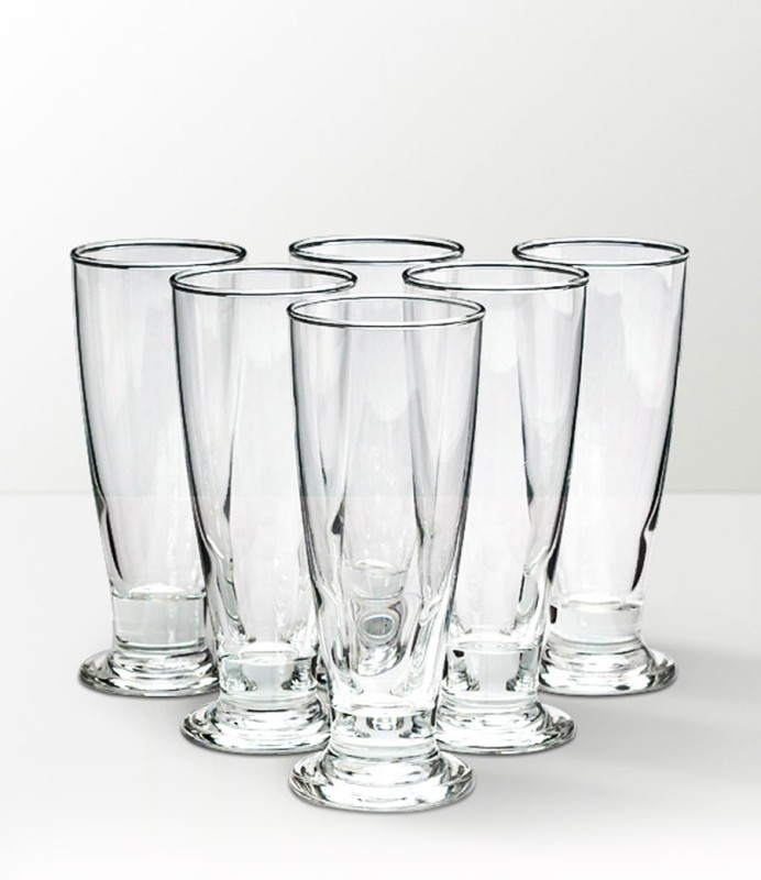 skykey G06 Glass Set(Glass, 395 ml, Clear, Pack of 6)