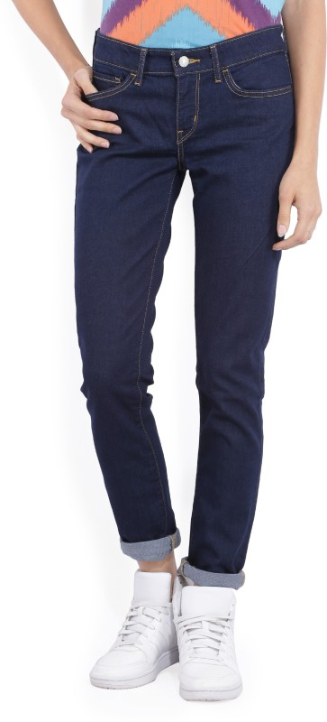 Levis Skinny Womens Blue Jeans