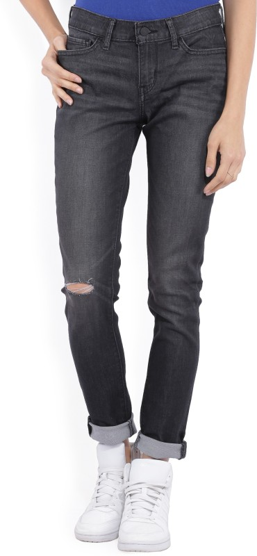 Levis Skinny Womens Black Jeans