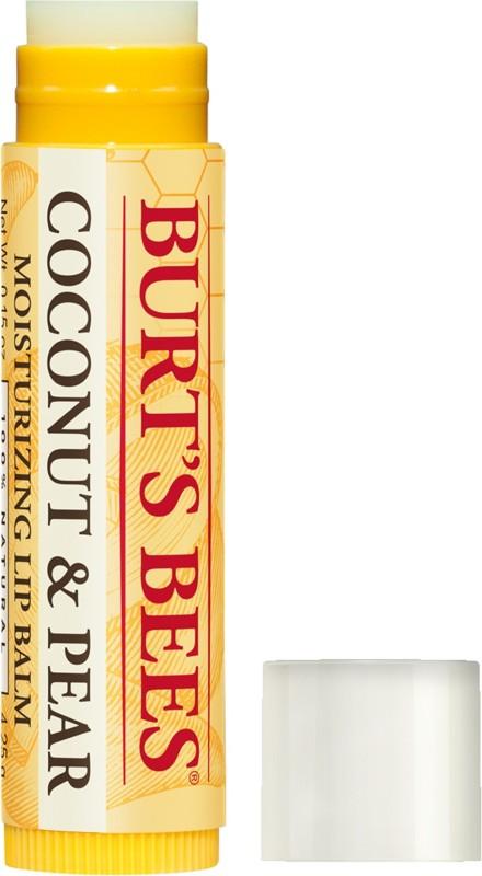 Burts Bees 100% Natural Moisturising Lip Balm, 4.25 grams Coconut & Pear(3 g)