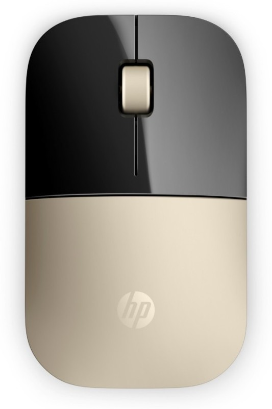 HP Z3700 Wireless Optical Mouse(USB, Gold)