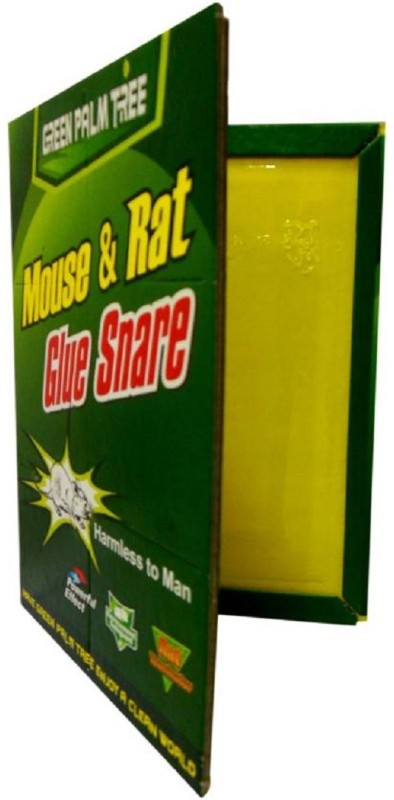 xeekart Rat and Mouse Trap Rat Glue Mouse Insect Rodent Lizard Trap Rat Catcher Adhesive Sticky Glue Rat Pad Mouse Glue Pack of 1 Live Trap