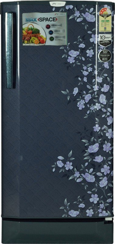 Godrej 190 L Direct Cool Single Door Refrigerator(Indigo Floret, RD...