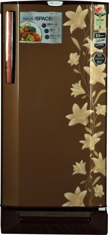 Godrej 190 L Direct Cool Single Door Refrigerator(Jasmine Brown, RD...