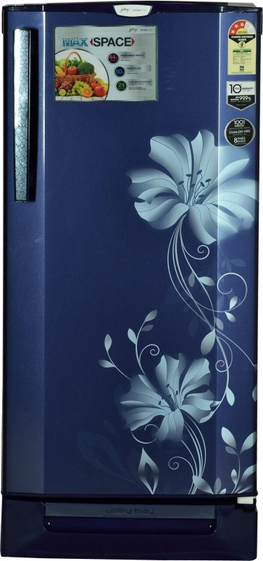 Godrej 190 L Direct Cool Single Door Refrigerator(Iris Blue, RD...