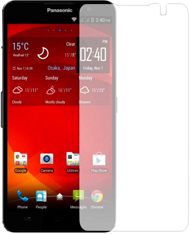 Phone Care Tempered Glass Guard for Panasonic P55 Novo
