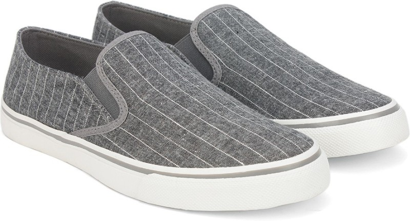 United Colors of Benetton Loafers For Men(Grey)