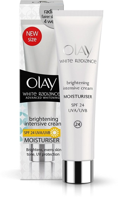 Olay White Radiance Advanced Whitening Fairness Protective Skin Cream Moisturizer UVA/UVB - SPF 24 PA++(20 g)