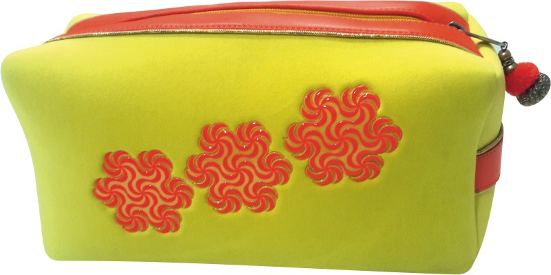 ACE TRENDS Cosmetic Pouch(Yellow)