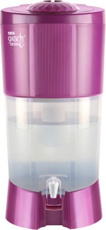 Tata Swach DESIRE+ 27 L Gravity Based Water Purifier(MAGENTA)