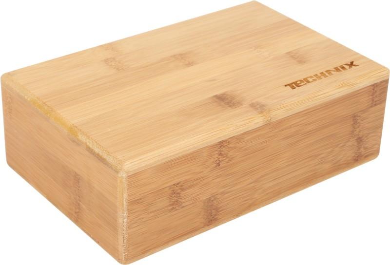 Technix Bamboo Yoga Blocks(Brown Pack of 1)