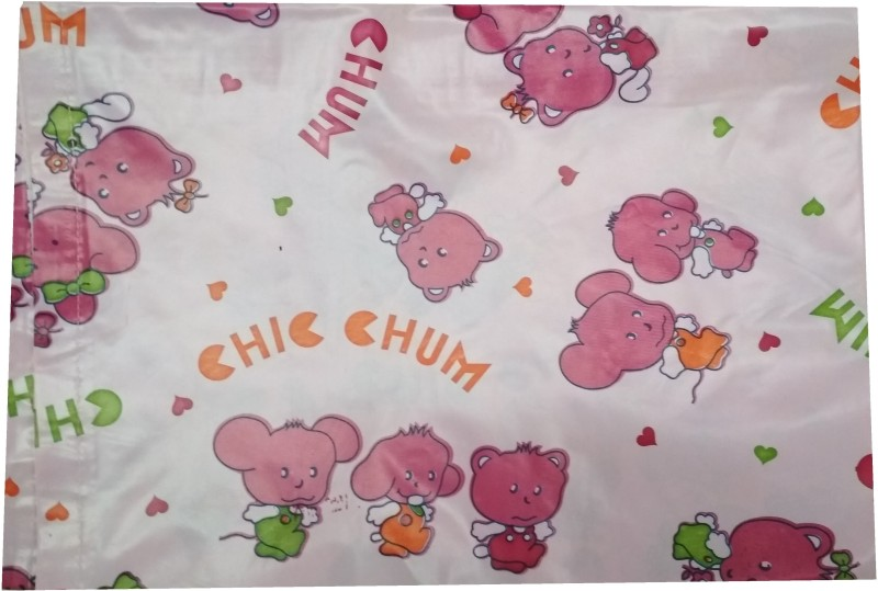 Love Baby Plastic, PVC (Polyvinyl Chloride) Baby Bed Protecting Mat(Pink, Large)