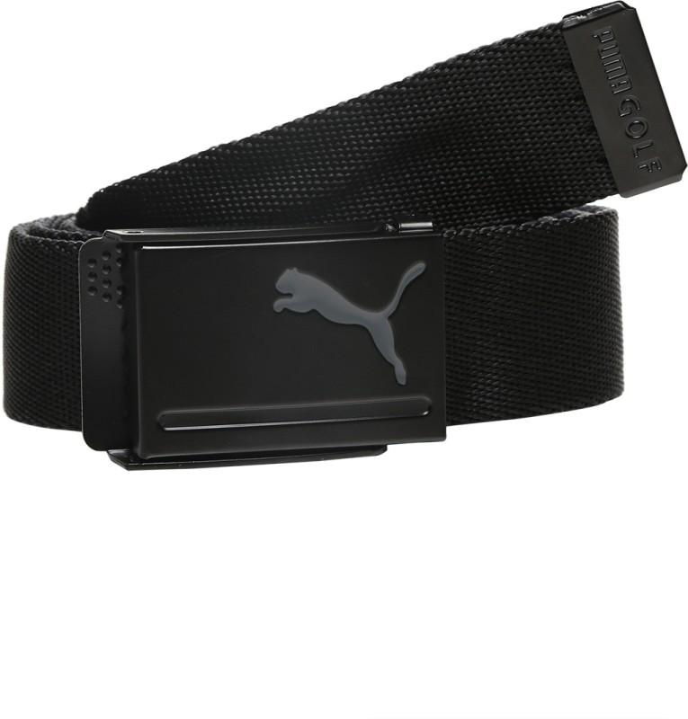 Puma Men Casual Black Synthetic Reversible Belt