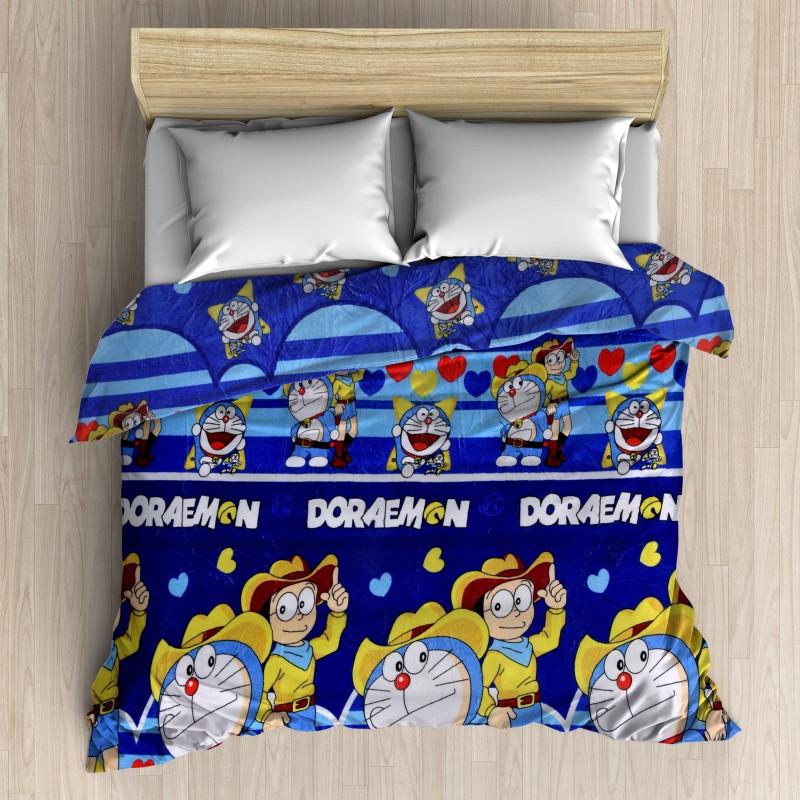 HFI Cartoon Double Blanket Multicolor(AC Blanket, 1 Blanket)