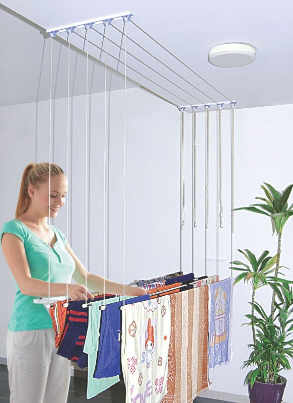 Hi5 Steel Ceiling Cloth Dryer Stand(Steel)