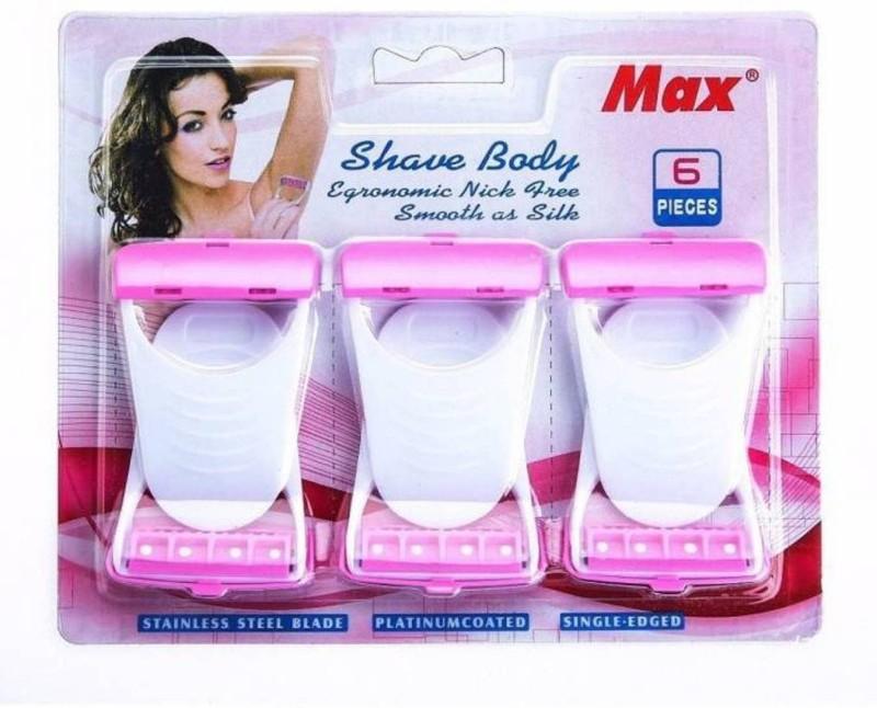 Max Max Disposable Razor(Pack of 6)