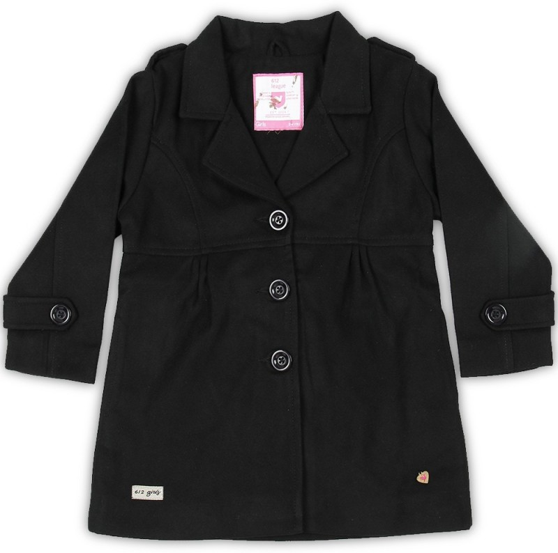 612 League Full Sleeve Solid Girls Jacket