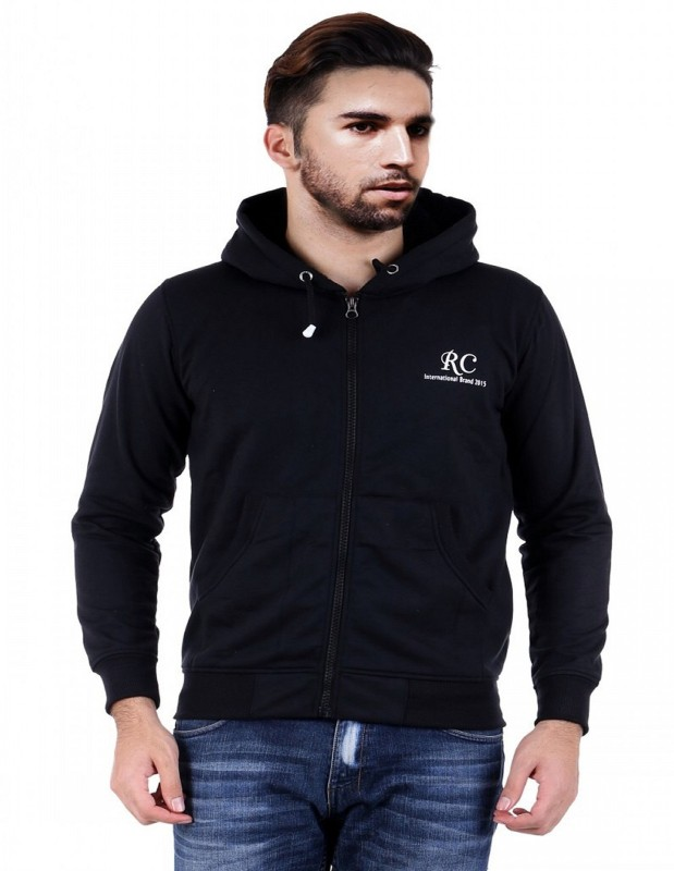 Sanvi Traders Full Sleeve Solid Mens Sweatshirt