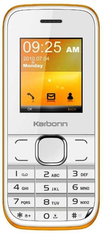 Karbonn K45+ Chota Jumbo(White & Orange) K45+ Chota Jumbo