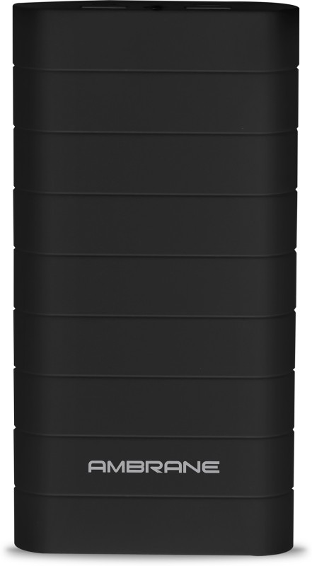 Ambrane Speedy S8 20000 mAh Power Bank(Black, Lithium-ion)