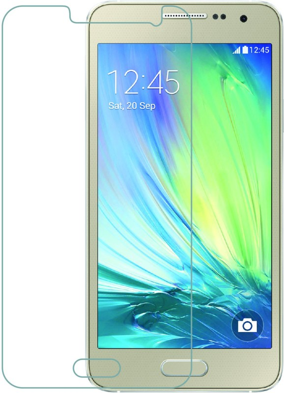 Mobile Crazy Tempered Glass Guard for Samsung Galaxy A3