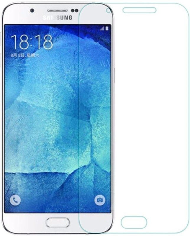 Mobile Shringar Tempered Glass Guard for Samsung Galaxy A8 (2016)