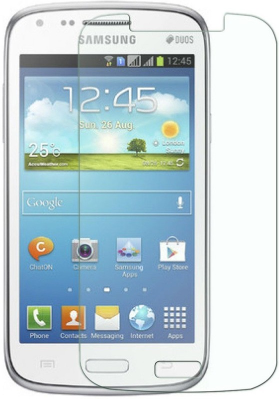 Mobile Crazy Tempered Glass Guard for Samsung Galaxy Core