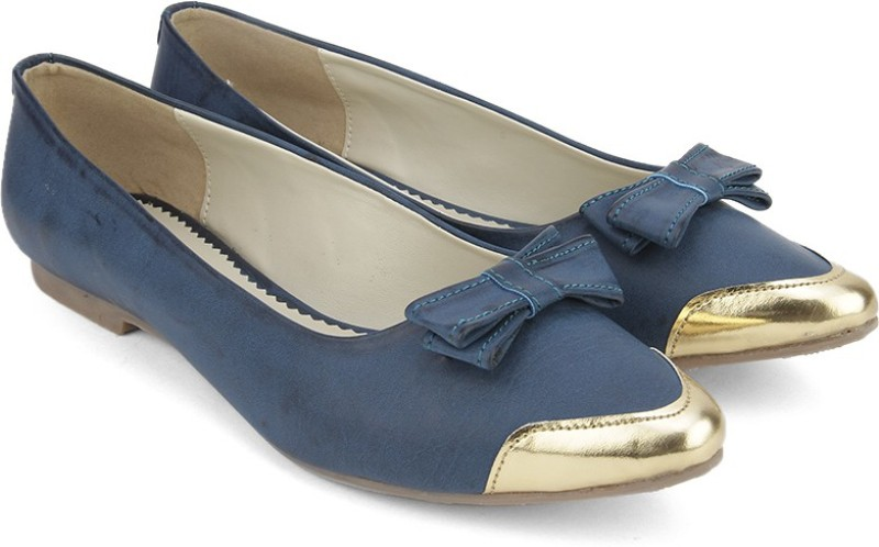 Bata METALLIC BelliesBlue