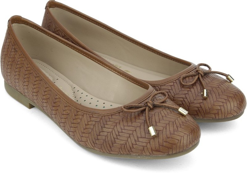 Bata WEAVE BALLERINA BelliesBrown