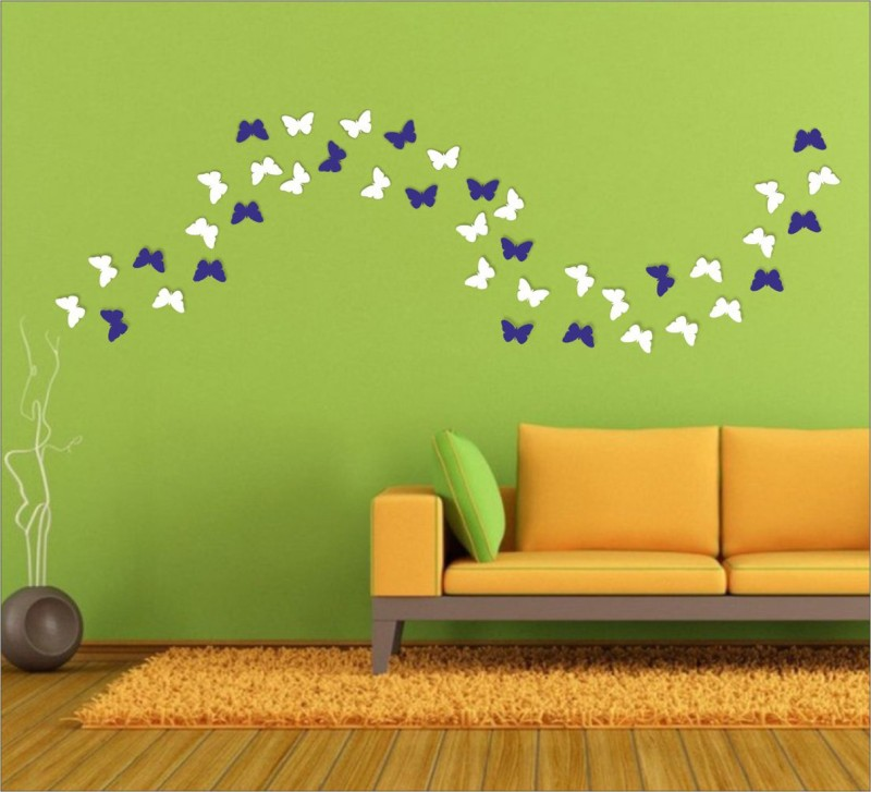 Wall1ders Large Sticker Sticker(Pack of 40)