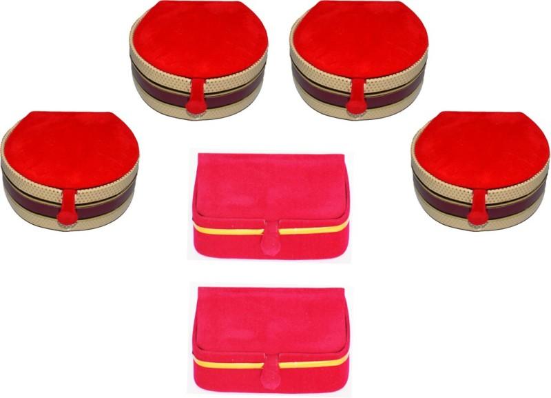 Aadhya Combo Of Earring & Bangle Box pack of 6 Vanity Box(Multicolor)