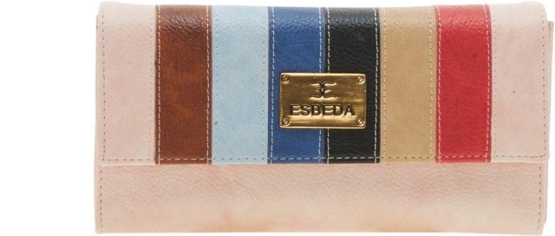 Esbeda Women Pink Artificial Leather Wallet(9 Card Slots)